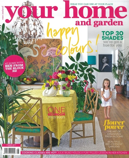 your home and garden cover - August 2013